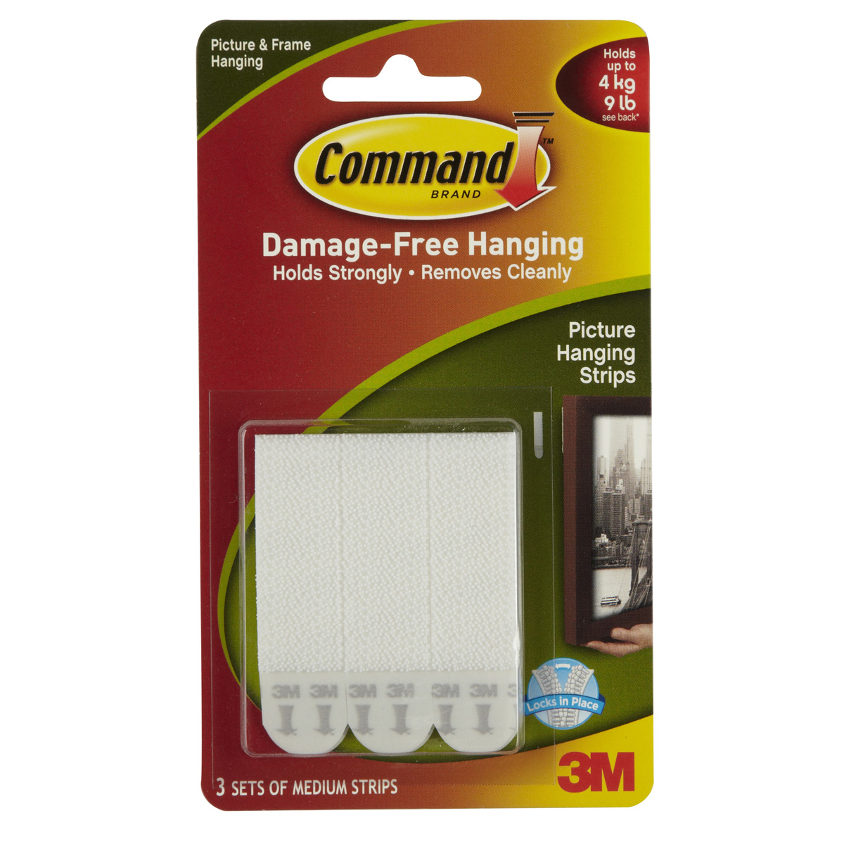 3M Command Medium Picture Hanging Strips White  sc 1 st  Michaels Stores & Frame Hangers | Michaels