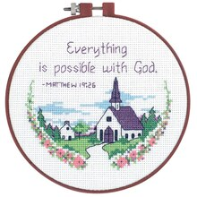 Dimensions Counted Cross Stitch Kit, Everything is Possible