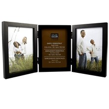 "Studio Décor Simply Essentials 3-Opening Hinged Frame, 4"" x 6"""