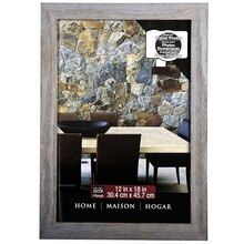 studio dcor home collection barnwood frame 12 x 18