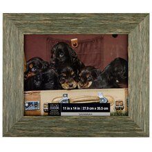 Studio Décor Viewpoint Savannah Distressed Barnwood Frame, Green