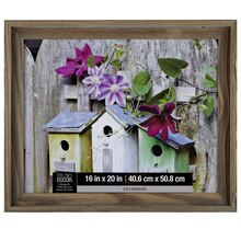 "Studio Décor Viewpoint Savannah Step Down Frame, 16"" x 20"""
