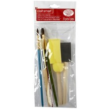Craft Smart Craft & Stencil Brush Set, 8 Pieces