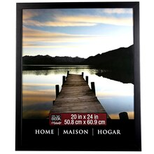 "Studio Décor Home Collection Flat Frame, Black 20"" x 24"""
