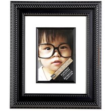 "Studio Décor Portrait Collection Rope Frame With Mat, 5"" x 7"""