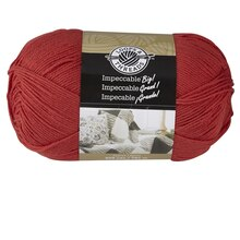 Loops & Threads Impeccable Big! Yarn, Rouge