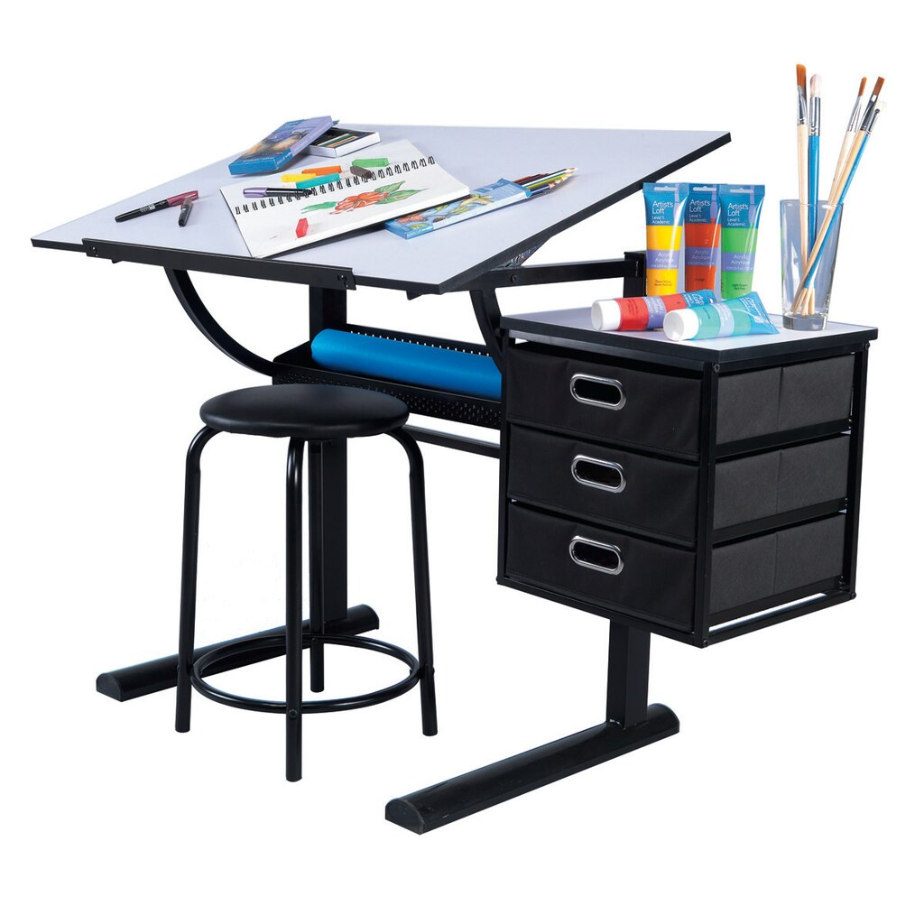 Artist 39 s loft creative design table for Creative design table