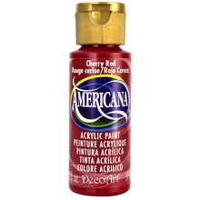 Americana Acrylic Paint 2 oz., Cherry Red