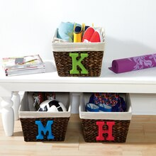 Baskets with Initial