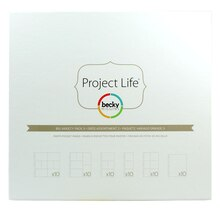 Project Life Photo Pocket Pages, Big Variety Pack 3