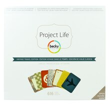 Project Life Vintage Travel Edition Core Kit
