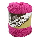 Lily Sugar 'n Cream Yarn, Hot Pink