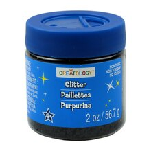 Creatology Glitter, 2 oz. Black