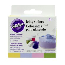 Wilton Icing Colors, Garden Colors Set