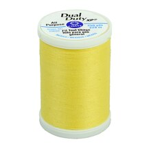 Coats & Clark Dual Duty XP General Purpose Thread, Yellow