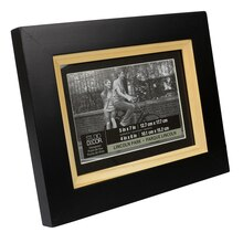 "Studio Décor Viewpoint Lincoln Park Two-Tone Frame With Mat, 4""x6"""