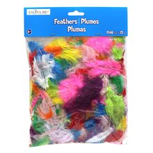 Creatology Feathers, Assorted Short Marabou
