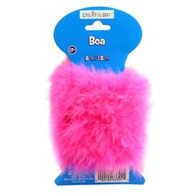 Creatology Marabou Craft Boa, Candy Pink