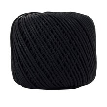 Bead Landing Waxed Cotton Cord Ball, 200 ft. Black