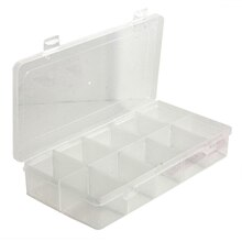 Bead Landing Bead Storage Box With Removable Dividers