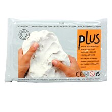 Plus Modeling Clay, White