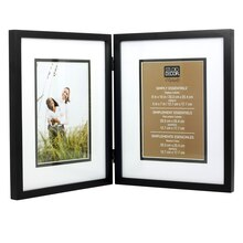 Studio Decor Simply Essentials 2-Opening Hinged Frame With Mat