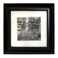 """Studio Décor Hang Your Own Gallery Black Frame with Mat, 8"""" x 8"""""""
