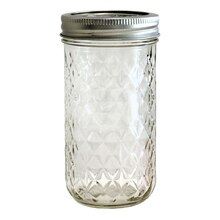 Ball Quilted Jelly Jar, 12 oz.