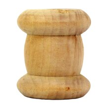 Lara's Crafts Wood Turnings Spool