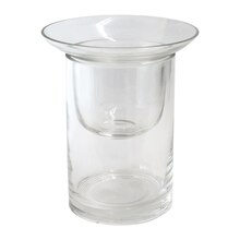 Ashland Glass Cylinder Candle Holder, Small