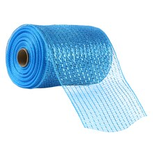 "Celebrate It Occasions Mesh Ribbon, 5 1/2"", Turquoise"
