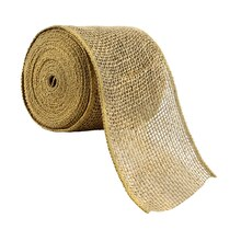 Celebrate It Occasions Wired Burlap Ribbon