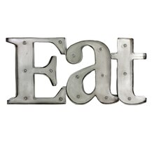 Studio Décor Marquee Sign, Eat