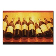 Printed Canvas Art, Wine Bottles