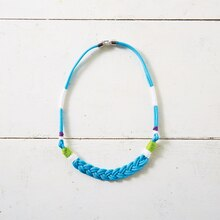 Turquoise Paracord Necklace