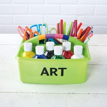 Classroom Art Supply Table Caddy, medium