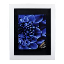 "Studio Deco® Gallery Float Frame White 11"" x 14"""