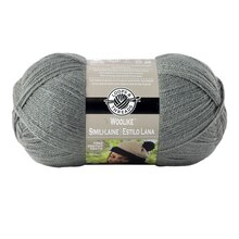 Loops & Threads Woolike Yarn, Charcoal