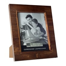 """Studio Decor Expressions Brown Salvage Chic Frame, 8"""" x 10"""""""