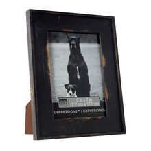 "Studio Décor Expressions Country Frame, Black 5"" x 7"""