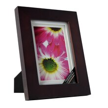walnut gallery frame with double mat by studio dcor