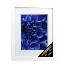 white gallery wall frame with double mat by studio dcor