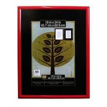 "Studio Décor Trendsetter Frame, Red 18"" x 24"""
