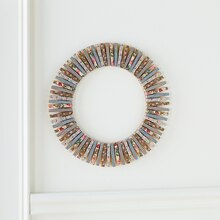 Clothespin Wreath