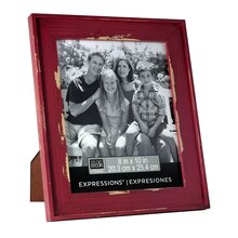 "Studio Décor Expressions Country Frame Red, 8"" x 10"""