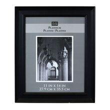 Studio Décor Platinum Collection Hardwood Frame, Black