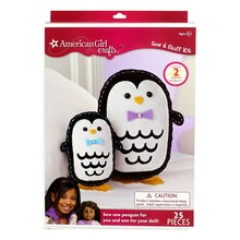 American Girl Crafts Sew & Stuff Kit, Penguins
