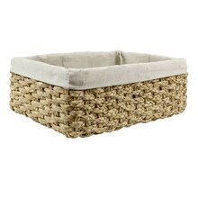 Ashland Water Hyacinth Storage Tray with Liner