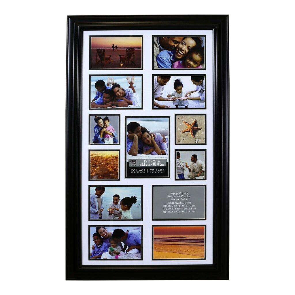 13 opening collage frame by studio d cor. Black Bedroom Furniture Sets. Home Design Ideas
