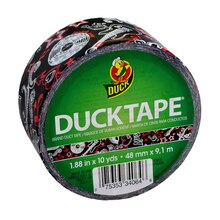 Printed Duck Tape Brand Duct Tape, Rock & Roll